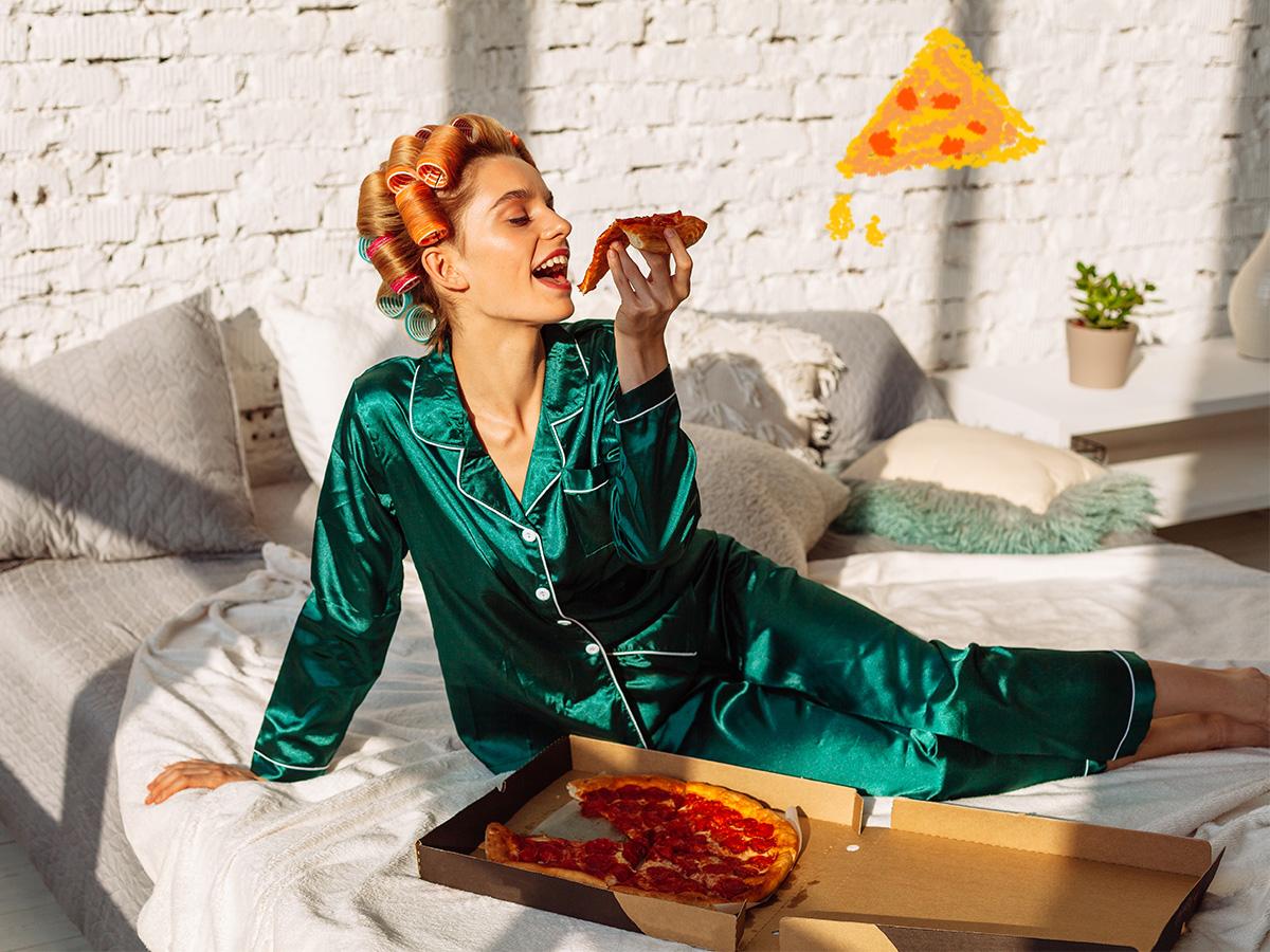 Σου αρέσει η πίτσα; Έξυπνα τρικς για να μειώσεις τις θερμίδες της