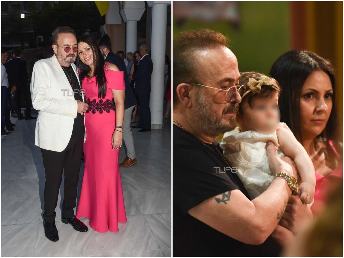 Σταμάτης Γονίδης – Κατερίνα Κουργιουξίδου: Το φωτογραφικό άλμπουμ της βάφτισης της κόρης τους – Οι διάσημοι που έδωσαν το παρών