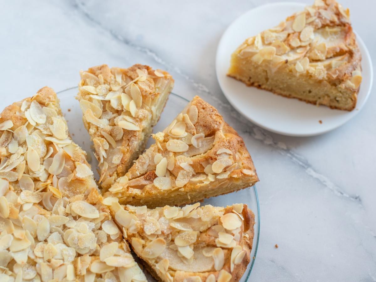 Συνταγή για κέικ αμυγδάλου
