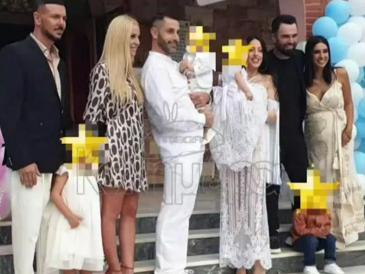 Νίκος Βουρλιώτης – Γιώργος Παπαδόπουλος: Έγιναν νονοί – Βάφτισαν τα δίδυμα του στενού συνεργάτη της Πάολα