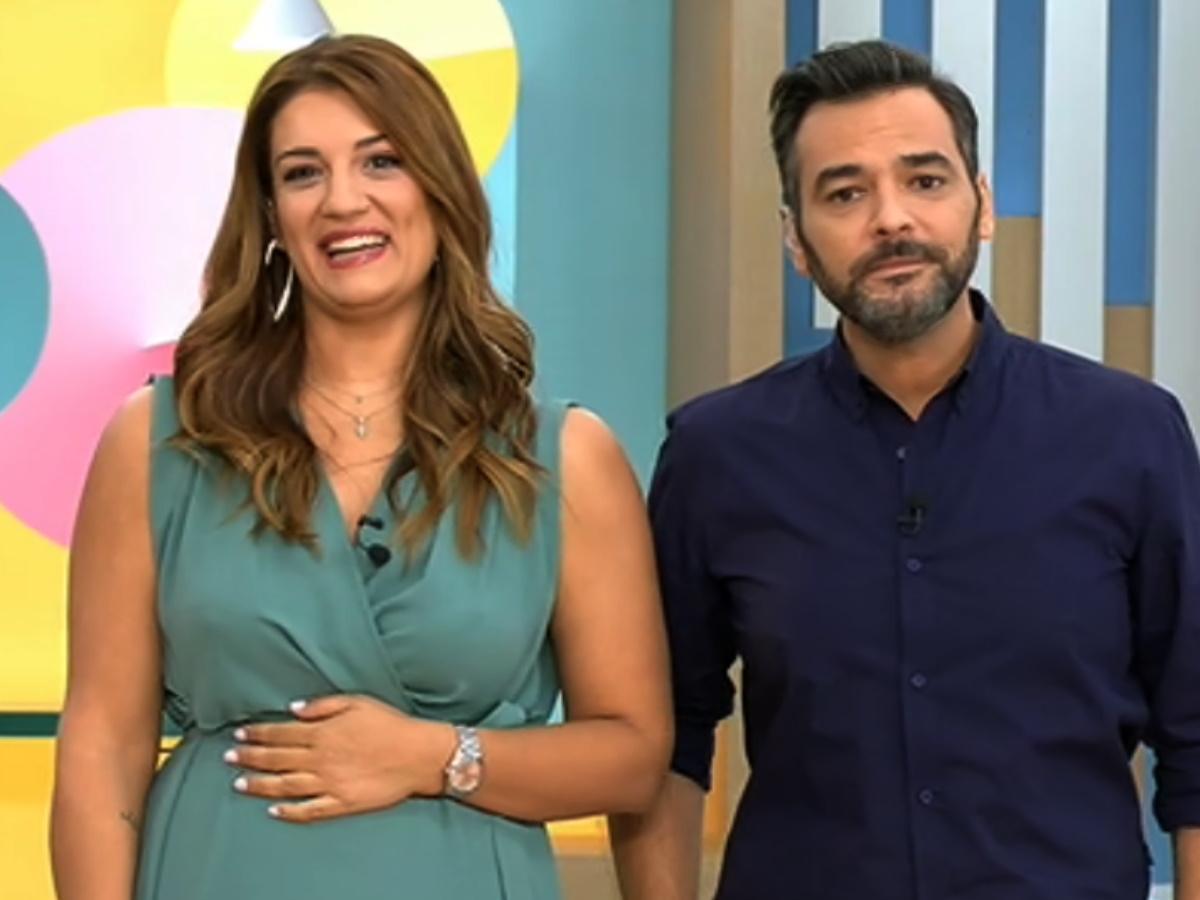 Breakfast@Star: Γιώργος Καρτελιάς και Ελίνα Παπίλα έκαναν πρεμιέρα – Το πλατό και οι συνεργάτες