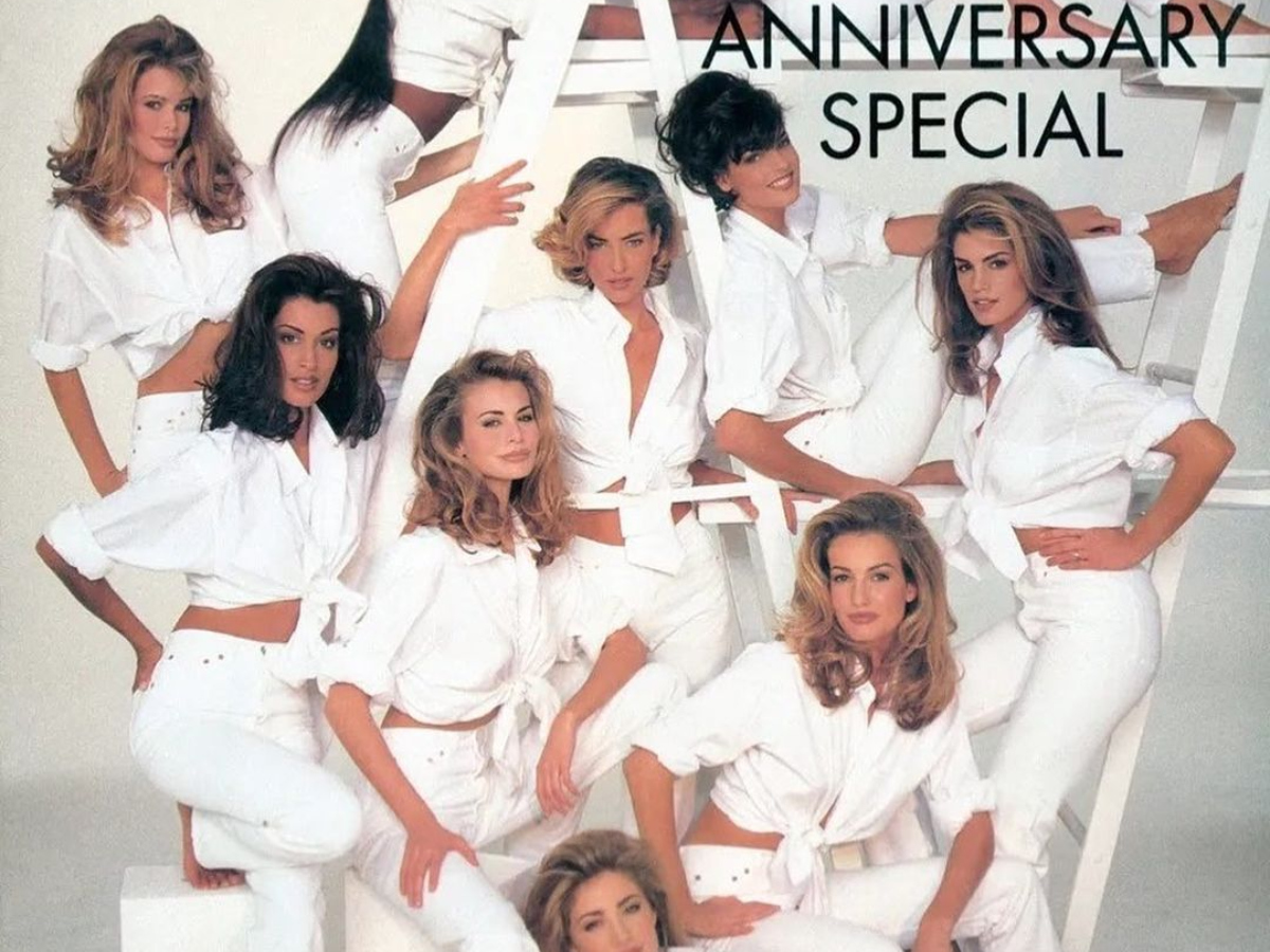 H Claudia Schiffer ετοιμάζει έκθεση αφιερωμένη στα supermodels των 90s