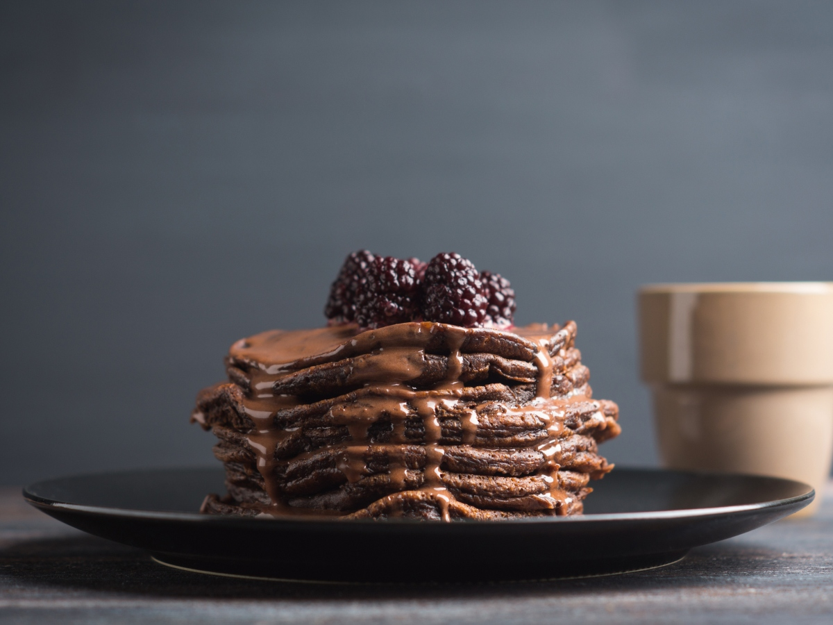 Συνταγή για σοκολατένια Pancakes