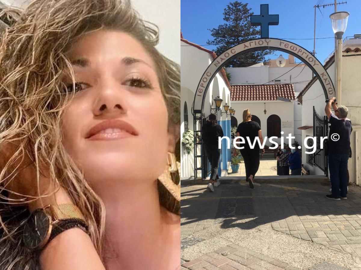 Γυναικοκτονία στη Ρόδο: Η κηδεία της Δώρας που δολοφονήθηκε από τον πρώην σύντροφο της