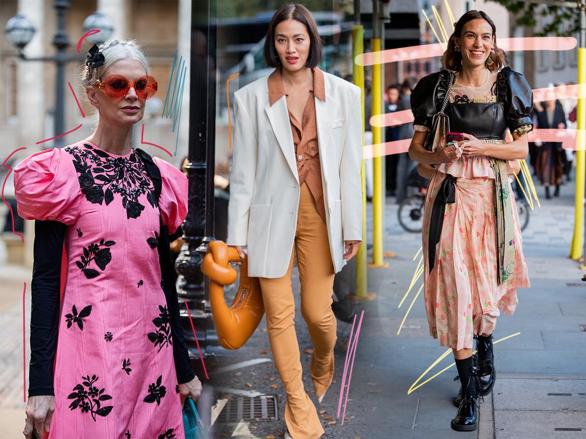 Οι καλύτερες street style εμφανίσεις από την Εβδομάδα Μόδας στο Λονδίνο