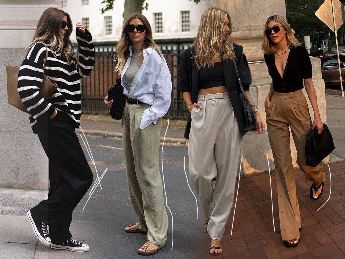 Άνετο παντελόνι: To κομμάτι που θα φορέσεις περισσότερο αυτή την εποχή