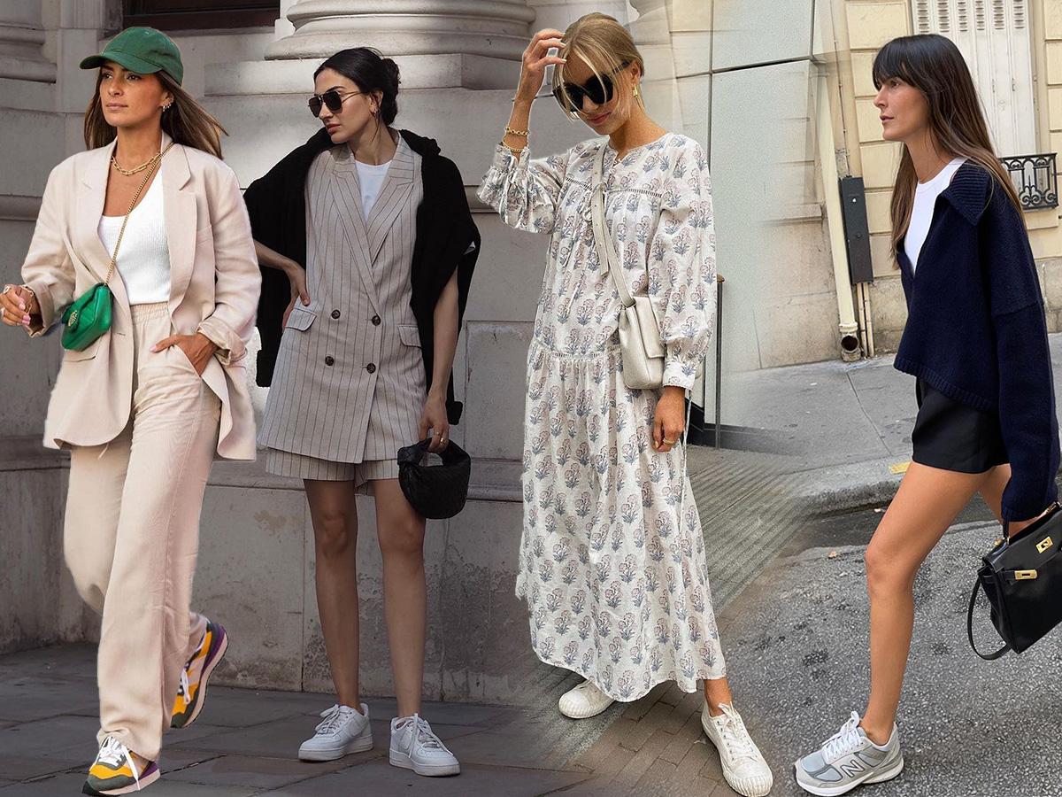 Sneakers: Νέοι συνδυασμοί για να τα φοράς χωρίς να τα βαριέσαι ποτέ