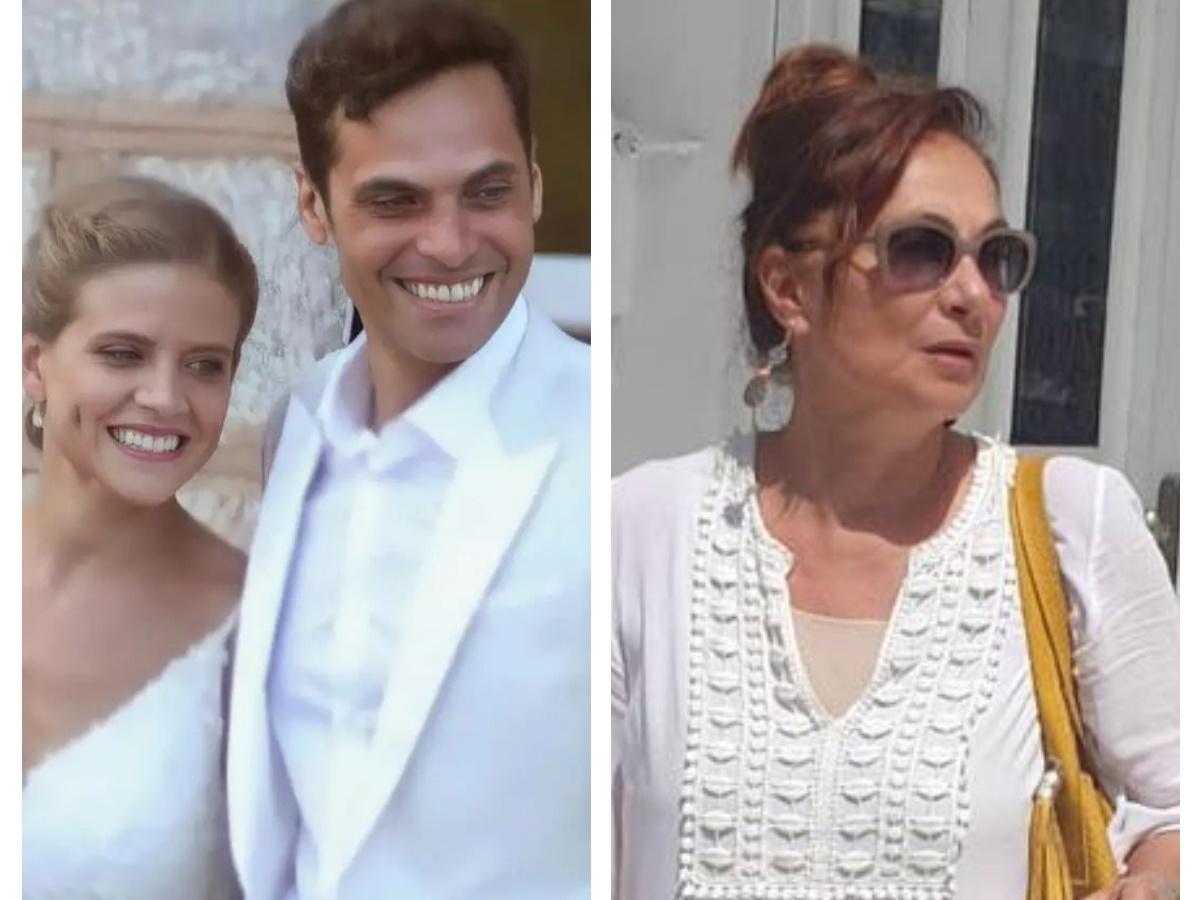 """Φιλαρέτη Κομνηνού: """"Ο γιος μου είναι πολύ ευτυχισμένος με τη Δανάη, έλαμπε στον γάμο τους"""""""