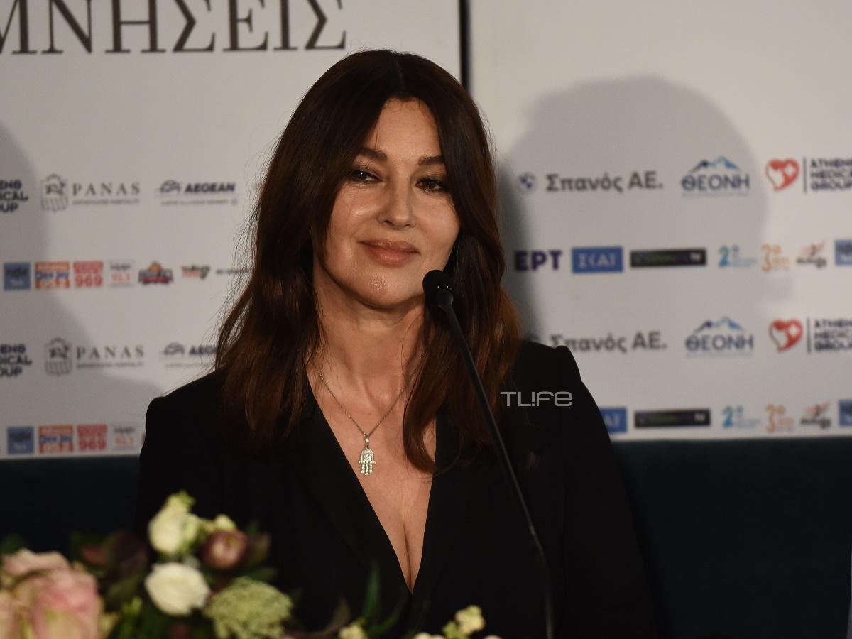 Στην Ελλάδα η Μόνικα Μπελούτσι για τον ρόλο της ως Μαρία Κάλλας – Φωτογραφίες του TLIFE