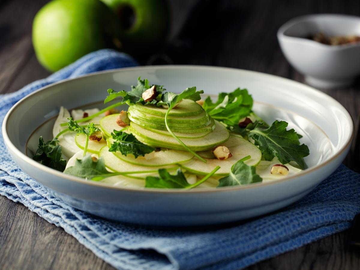 Συνταγή για σαλάτα με φινόκιο και πράσινο μήλο