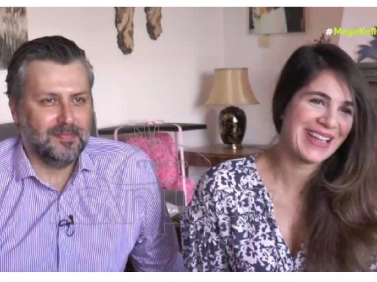Γιάννης Καλλιάνος – Χάρις Δαμιανού: Ανοίγουν το σπίτι τους και περιγράφουν τις πρώτες μέρες με το μωρό τους