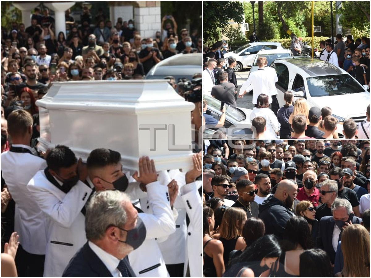 Κηδεία Mad Clip: Πλήθος κόσμου στο τελευταίο αντίο – Φωτογραφίες του TLIFE