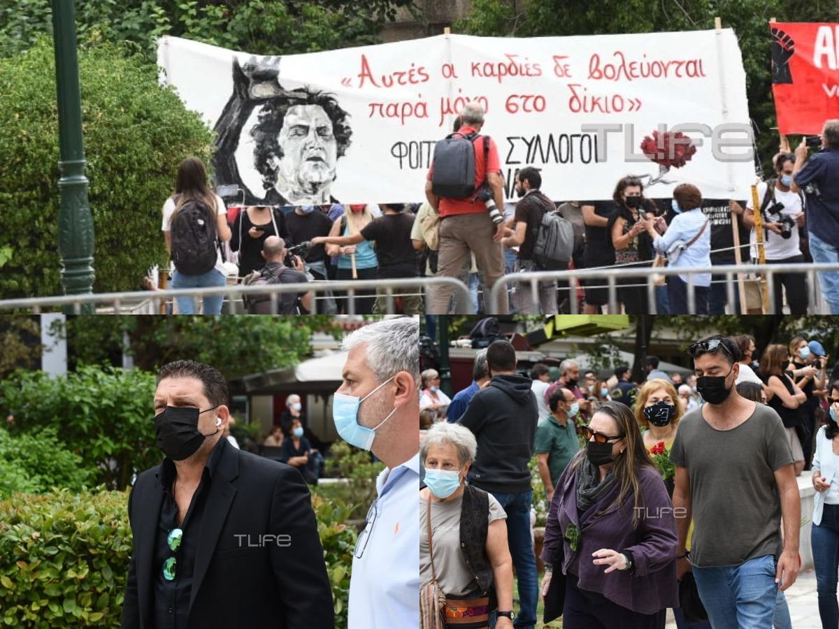 Μίκης Θεοδωράκης: Τελευταίες ώρες για το λαϊκό προσκύνημα – Εκατοντάδες κόσμου αποχαιρετούν τον μουσικοσυνθέτη