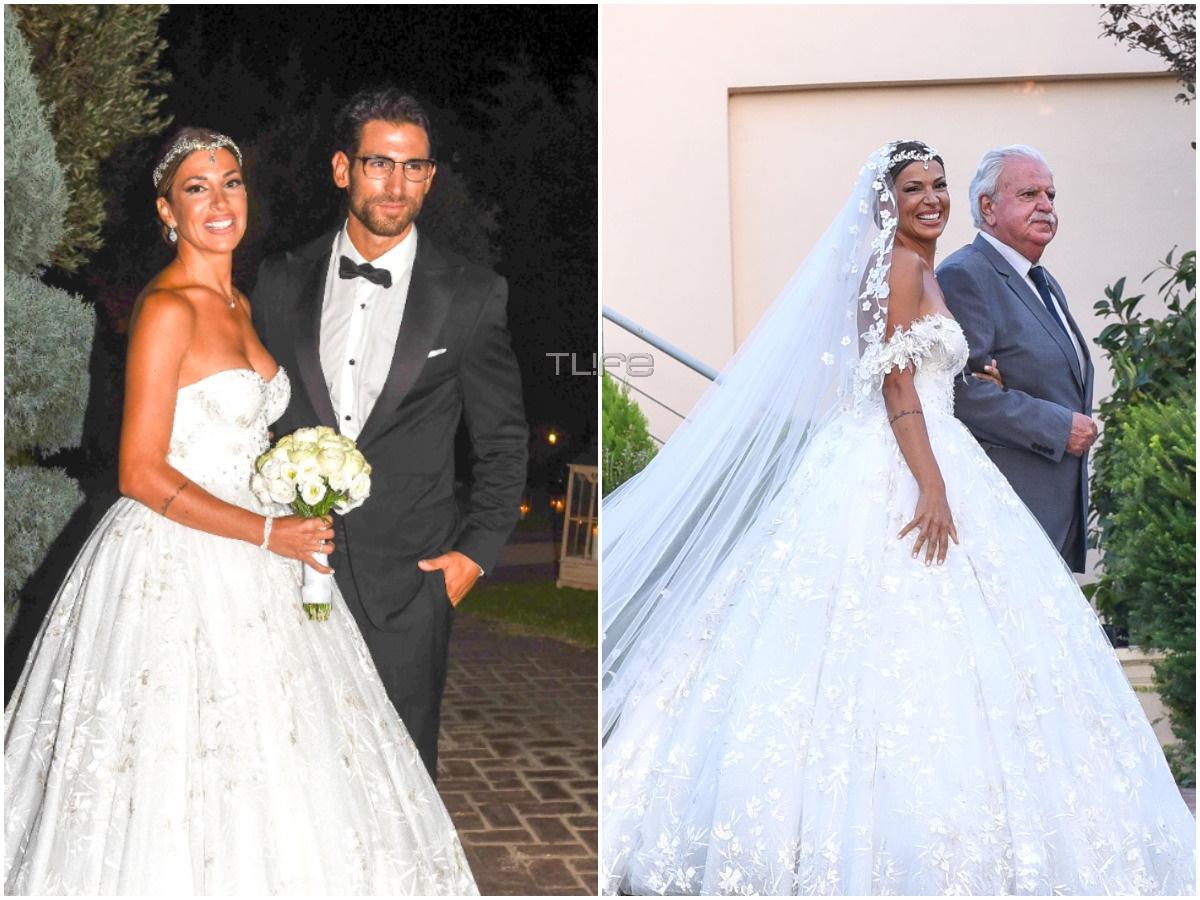 Ελένη Χατζίδου – Ετεοκλής Παύλου: Το φωτογραφικό άλμπουμ του γάμου τους