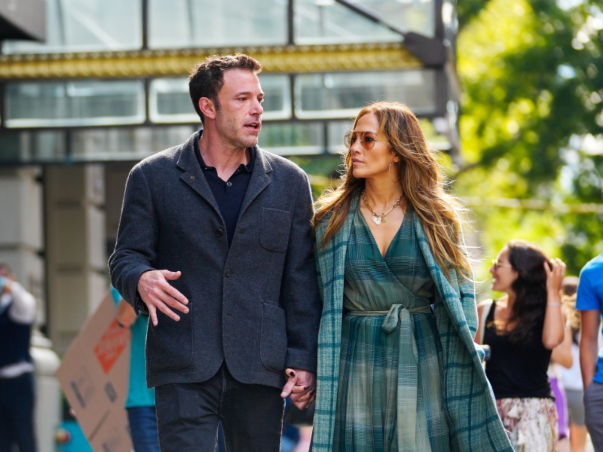 Jennifer Lopez και Ben Affleck με άψογο φθινοπωρινό στιλ στην Νέα Υόρκη