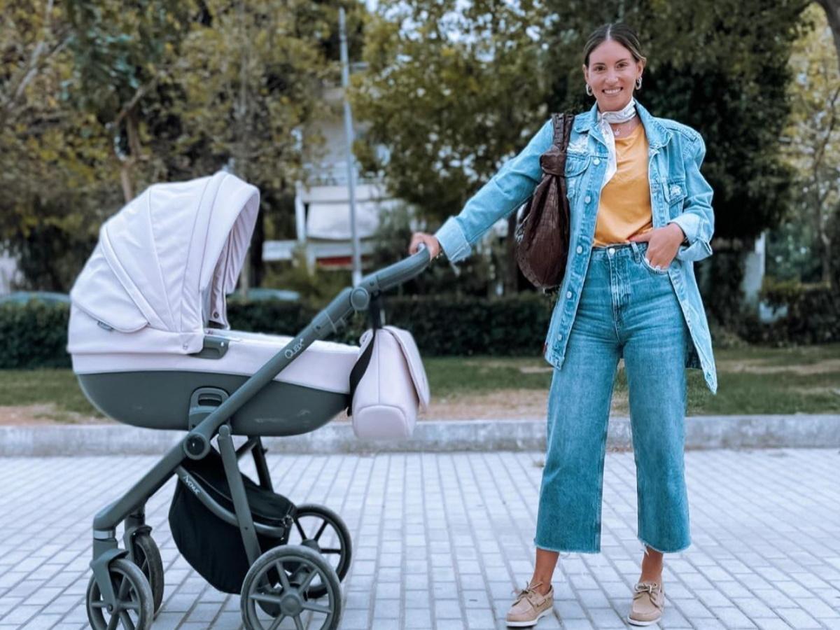 Αθηνά Οικονομάκου: Η φθινοπωρινή βόλτα με τον Φίλιππο Μιχόπουλο και την κόρη τους – Φωτογραφίες