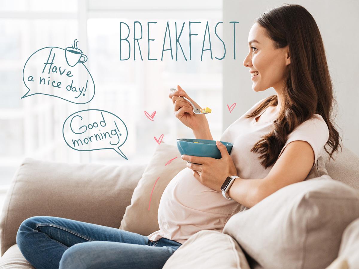 Εγκυμοσύνη: Οι τροφές που καλό είναι να βρίσκονται στο πρωινό της μέλλουσας μαμάς