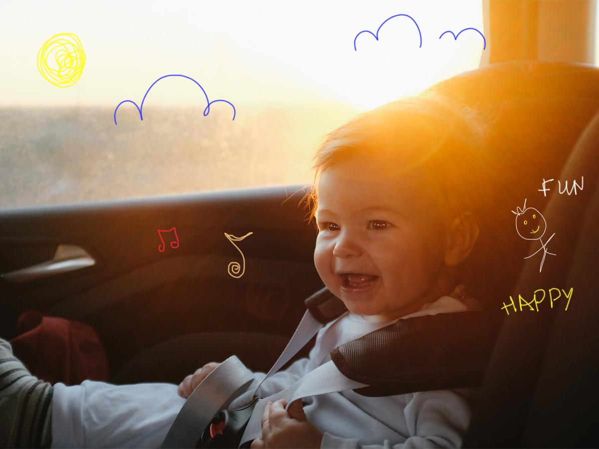 Βόλτα με το αυτοκίνητο: Συμβουλές για να μην κλάψει το μωρό