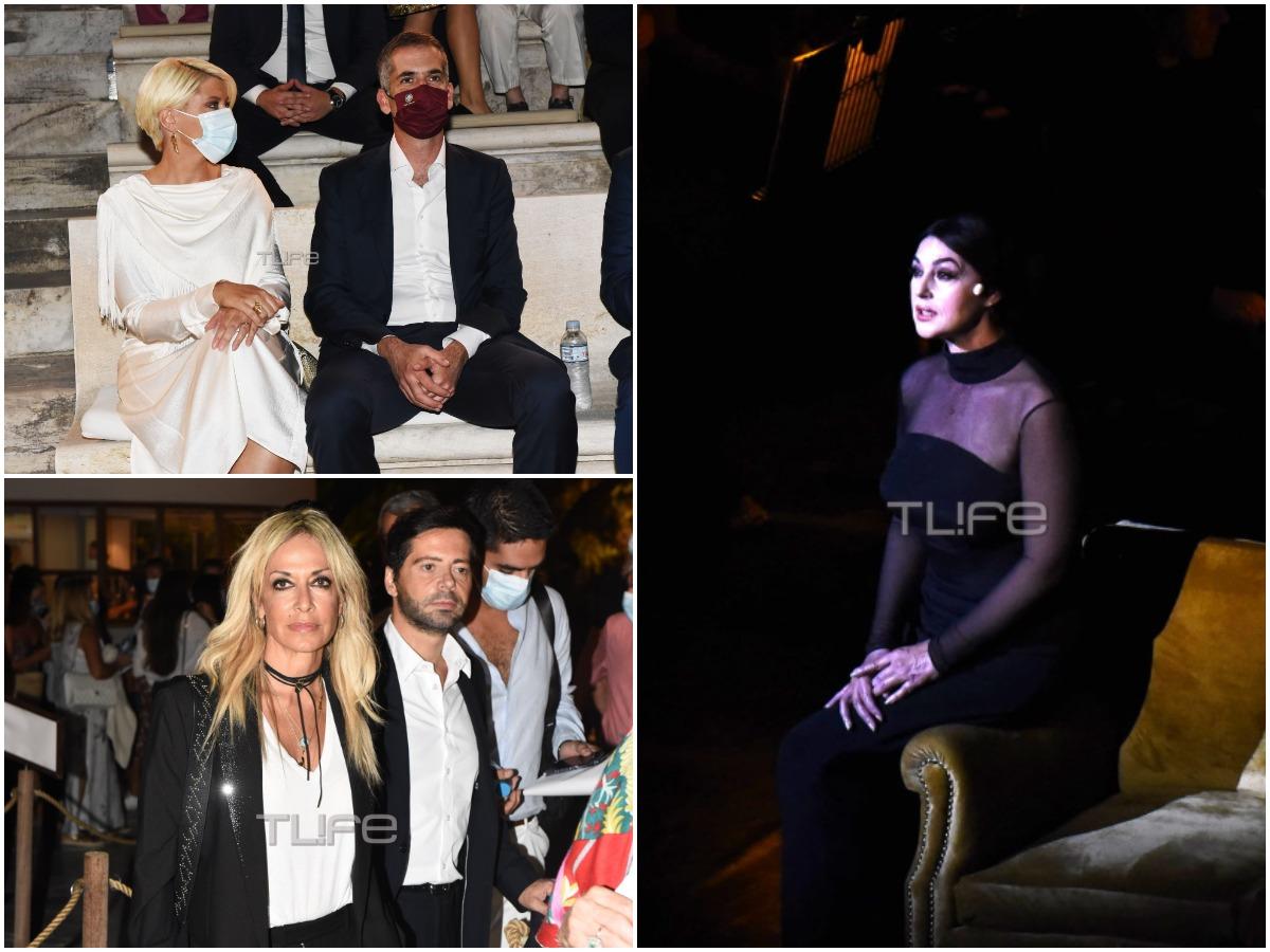 Μόνικα Μπελούτσι: Καθήλωσε στην πρώτη της παράσταση στο Ηρώδειο – Οι φωτογραφίες του TLIFE