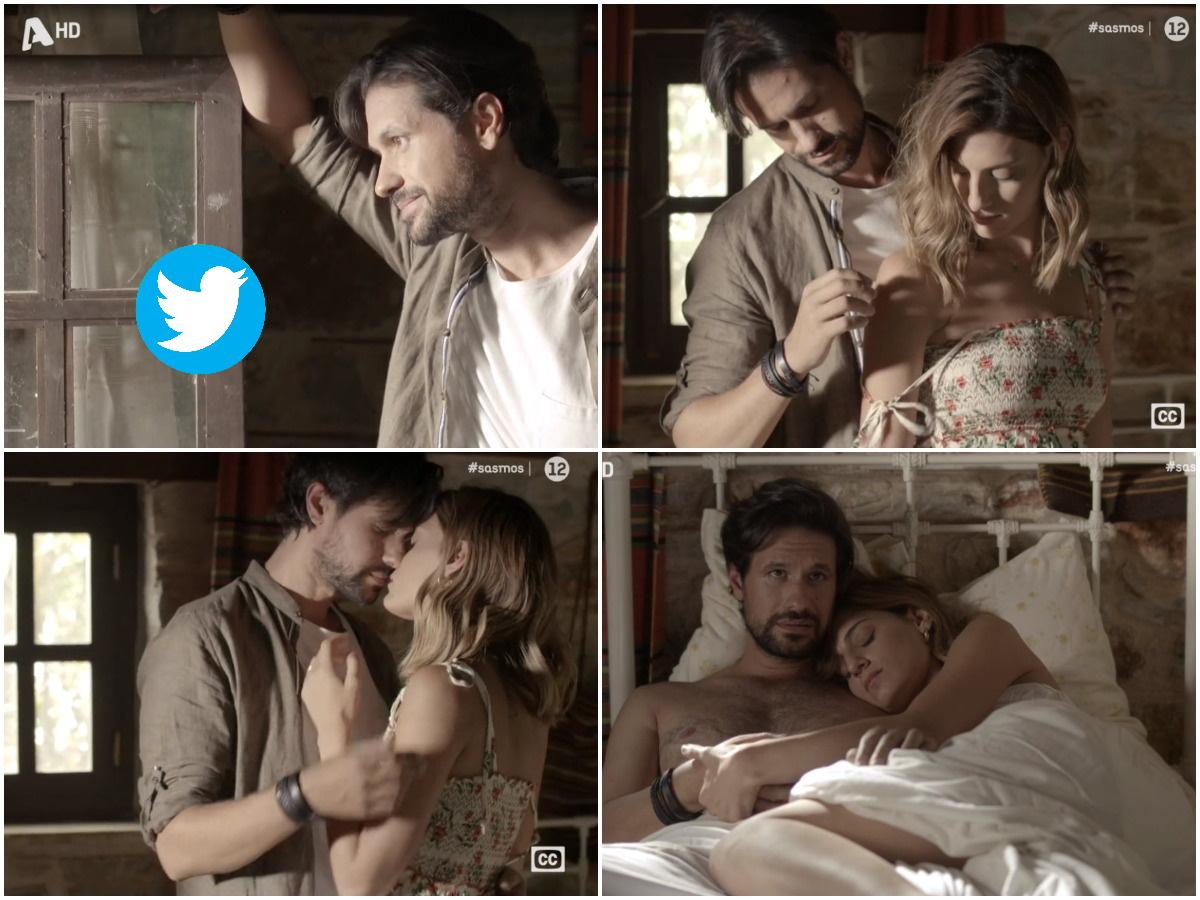 Σασμός: Η ερωτική σκηνή της Αργυρώς και του Αστέρη με επικά σχόλια στο twitter – «Κλείστε μας και την πόρτα στα μούτρα»