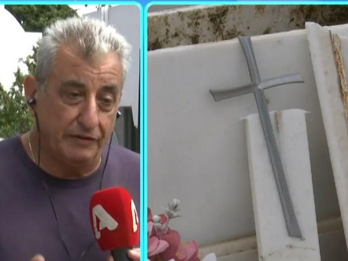 Mad Clip: Εικόνες καταστροφής στο Κοιμητήριο Π. Φαλήρου μετά την κηδεία- Τι δηλώνει ο υπεύθυνος στο T-live