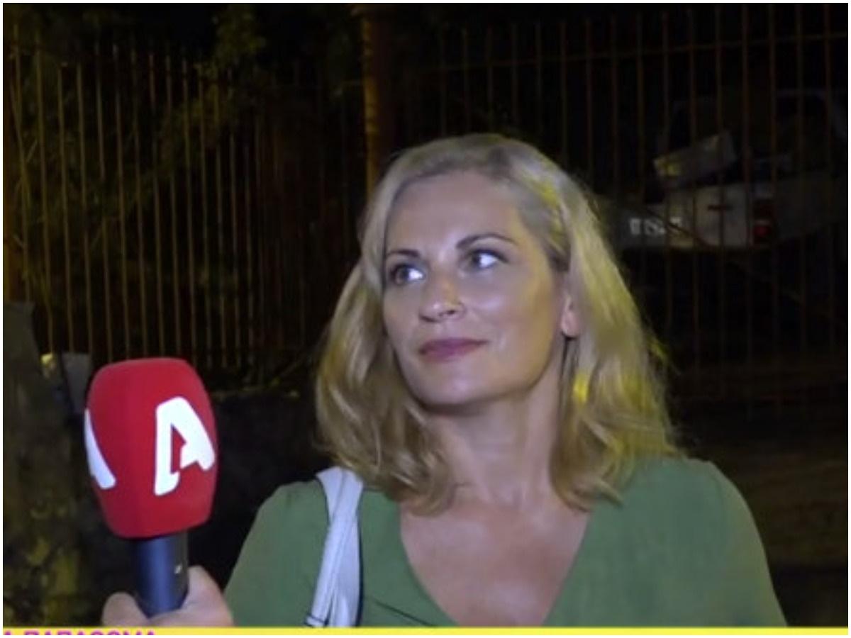 Θεοφανία Παπαθωμά: Αποχώρησε μπροστά στην κάμερα όταν ρωτήθηκε για τον Γρηγόρη Πετράκο