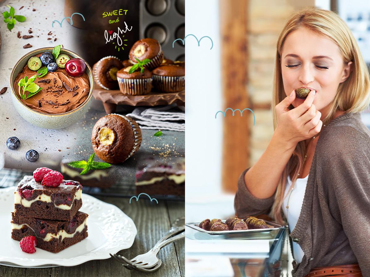 Σοκολάτα: 5 γλυκά με λιγότερες από 300 θερμίδες για απόλαυση χωρίς τύψεις