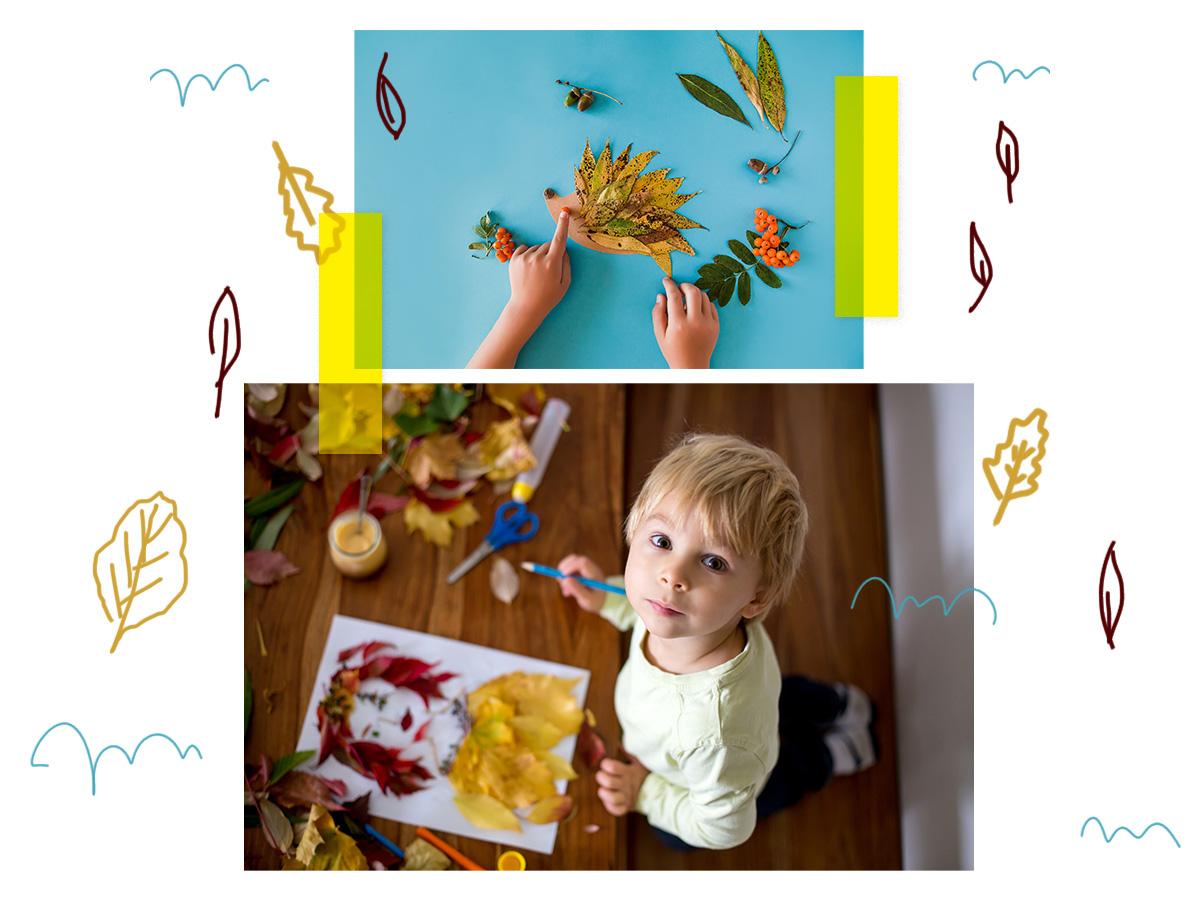 Φθινοπωρινές χειροτεχνίες: Ιδέες για να περάσει το μικρό σου δημιουργικά το χρόνο του