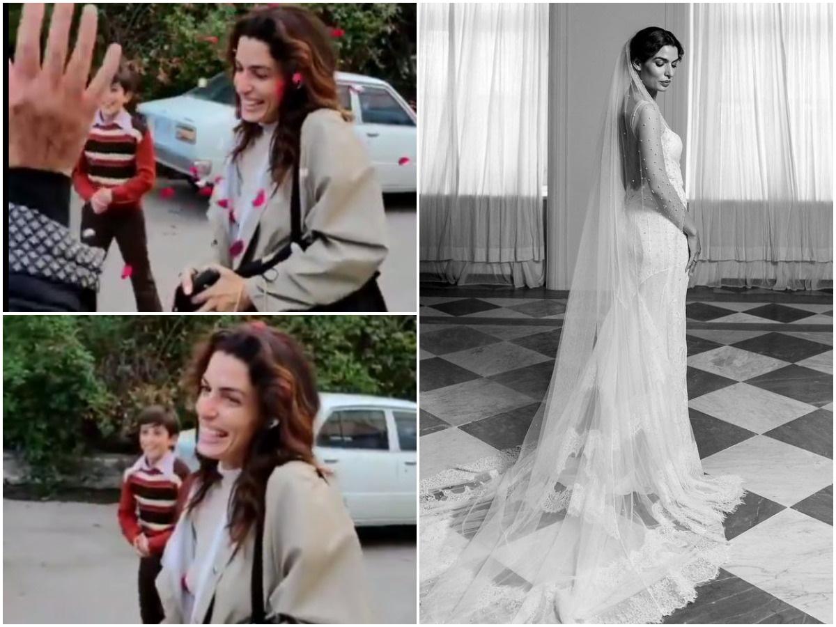 Τόνια Σωτηροπούλου: Έτσι την υποδέχτηκαν οι συνεργάτες της δύο μέρες μετά τον γάμο – Βίντεο