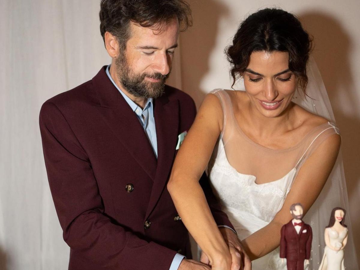 Τόνια Σωτηροπούλου: Νέες επίσημες φωτογραφίες από τον γάμο της με τον Κωστή Μαραβέγια
